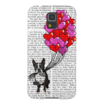 Boston Terrier And Balloons Galaxy S5 Case