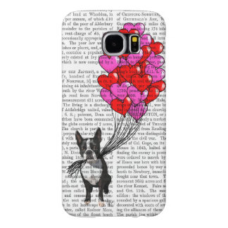 Boston Terrier And Balloons Samsung Galaxy S6 Case