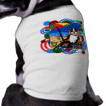 Boston Terrier at the Beach Dog T Shirt
