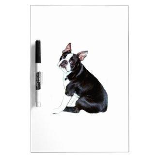Boston Terrier (B) Dry-Erase Board
