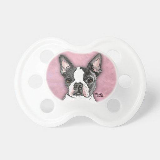 Boston Terrier Baby Pacifier
