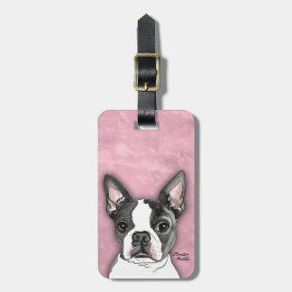 Boston Terrier Bag Tag