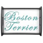 Boston Terrier Bandeja