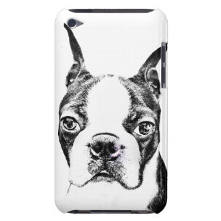 Boston Terrier Barely There iPod Cover