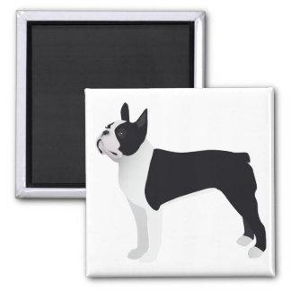Boston Terrier Basic Breed Customizable Design Magnet