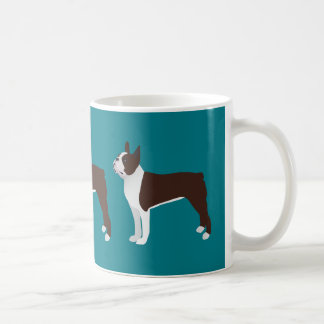 Boston Terrier Basic Customize with text and color Coffee Mug