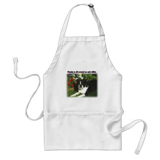 Boston Terrier:  Beauty All Around Adult Apron