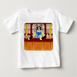 Boston Terrier Beer Pub Baby T-Shirt