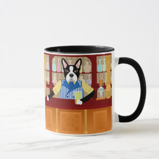 Boston Terrier Beer Pub Mug