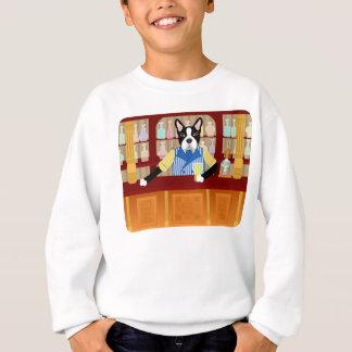 Boston Terrier Beer Pub Sweatshirt