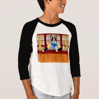 Boston Terrier Beer Pub T-Shirt