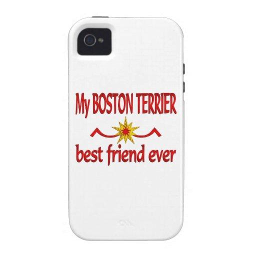 Boston Terrier Best Friend Case-Mate iPhone 4 Case