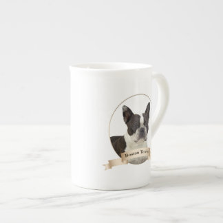 Boston Terrier Bone China Mug