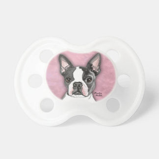 Boston Terrier BooginHead Pacifier