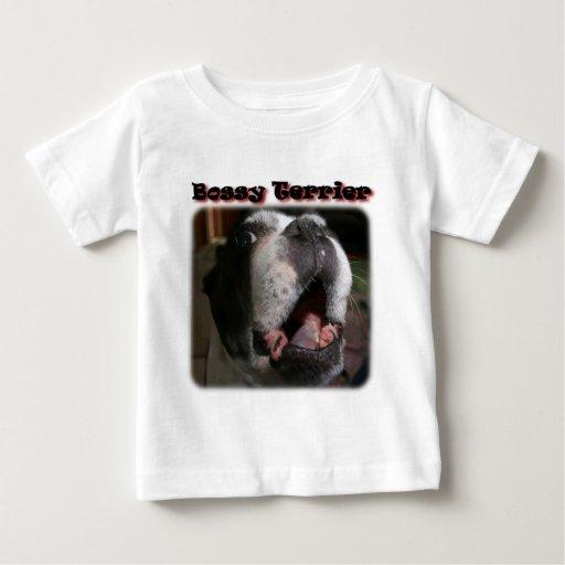 Boston Terrier:  Bossy Terrier Infant T-shirt