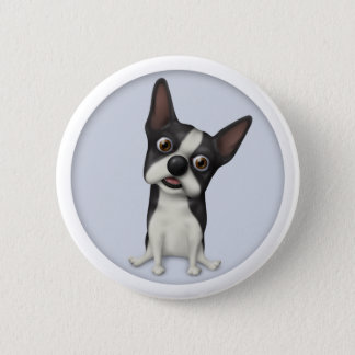 Boston Terrier BOST1 Pinback Button