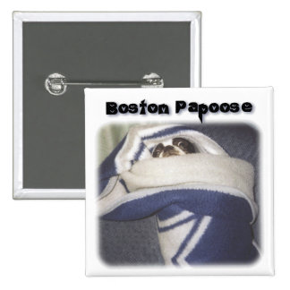 Boston Terrier:  Boston Papoose Pins