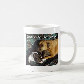 Boston Terrier:  Boston Terrier Pillow Mug