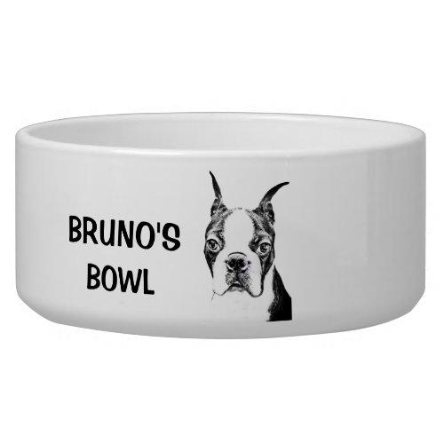 Boston Terrier Bowl
