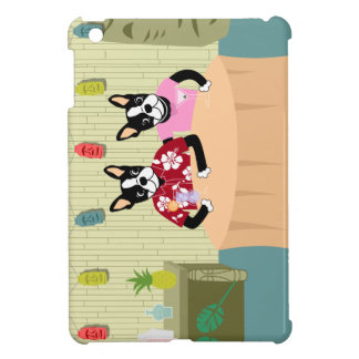 Boston Terrier Boy & Girl iPad Mini Cases