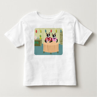 Boston Terrier Boy & Girl T-shirt