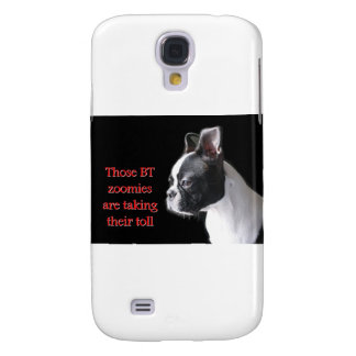 Boston Terrier: BT zoomies taking toll Galaxy S4 Cover
