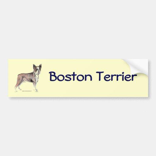 Boston Terrier Bumper Stickers