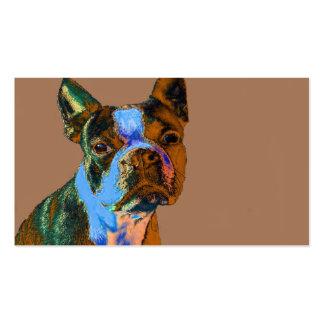 Boston Terrier Business Card