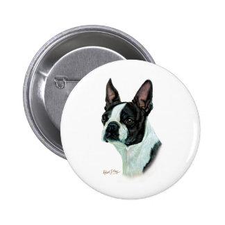 Boston Terrier Pinback Buttons
