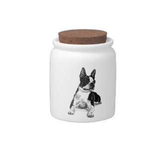 Boston Terrier Candy Dish