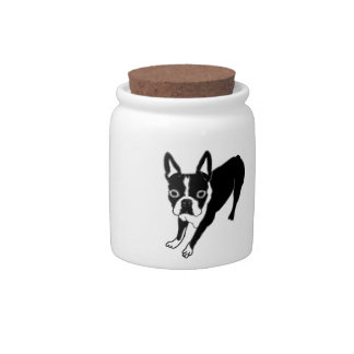 Boston Terrier Candy Dishes