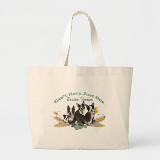 Boston Terrier Can't Have Just One Gifts Canvas Bag