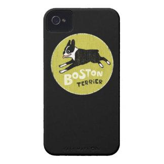 Boston Terrier Carcasa Para iPhone 4 De Case-Mate