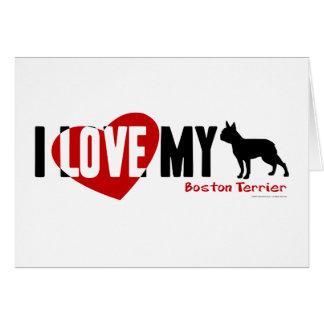 Boston Terrier Cards