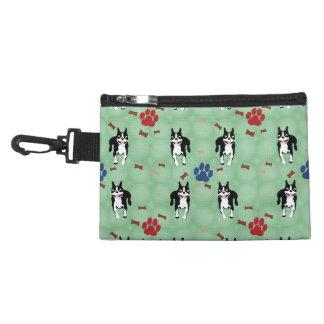 Boston Terrier Cartoon Accessories Bags