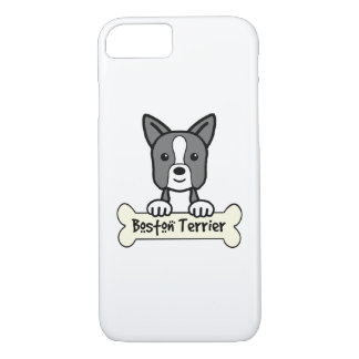 Boston Terrier Cartoon iPhone 7 Case