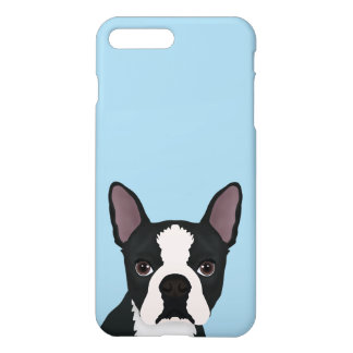 boston terrier cartoon iPhone 7 plus case