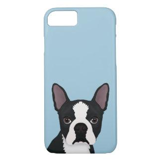 boston terrier cartoon iPhone 8/7 case