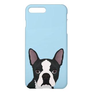 boston terrier cartoon iPhone 8 plus/7 plus case