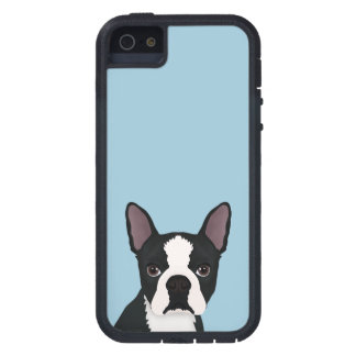 boston terrier cartoon iPhone SE/5/5s case