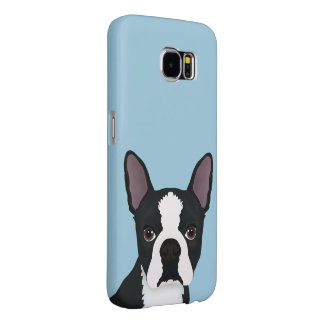 boston terrier cartoon samsung galaxy s6 case