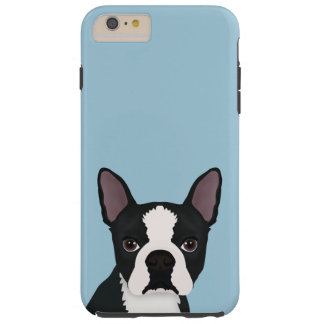 boston terrier cartoon tough iPhone 6 plus case