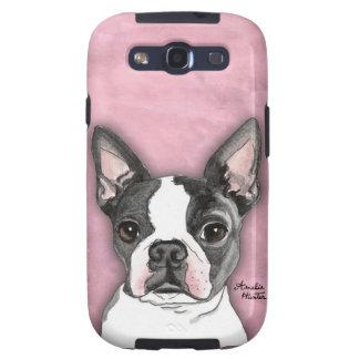 Boston Terrier Samsung Galaxy S3 Case