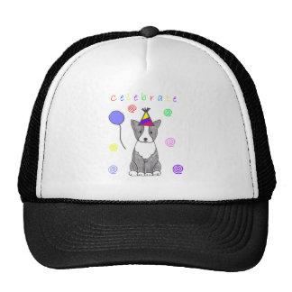 Boston Terrier Celebrate Trucker Hat