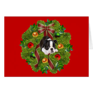 Boston Terrier Greeting Cards | Zazzle