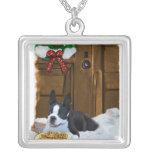 Boston Terrier Christmas Gifts Pendants