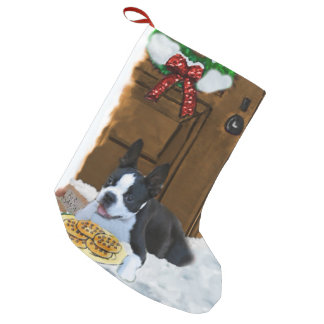 Boston Terrier Christmas Gifts Small Christmas Stocking