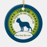 Boston Terrier | Christmas Ornament