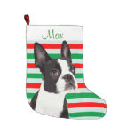 Boston Terrier Christmas Pet Stocking