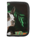 Boston Terrier Christmas with Piper Folio Planner